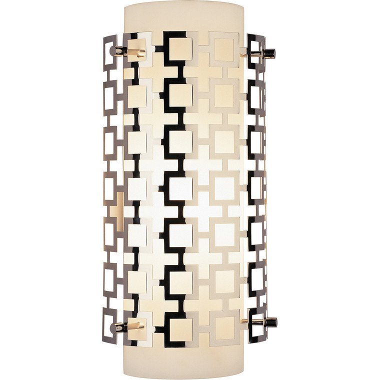 Robert Abbey Jonathan Adler Parker Wall Sconce in Polished Nickel S662