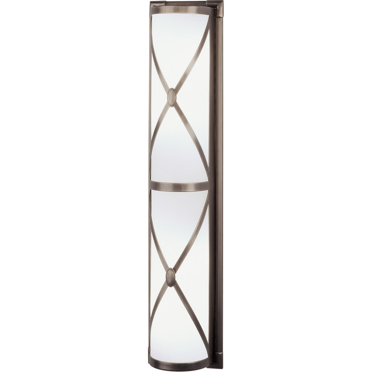 Robert Abbey Chase Wall Sconce in Dark Antique Nickel D1987