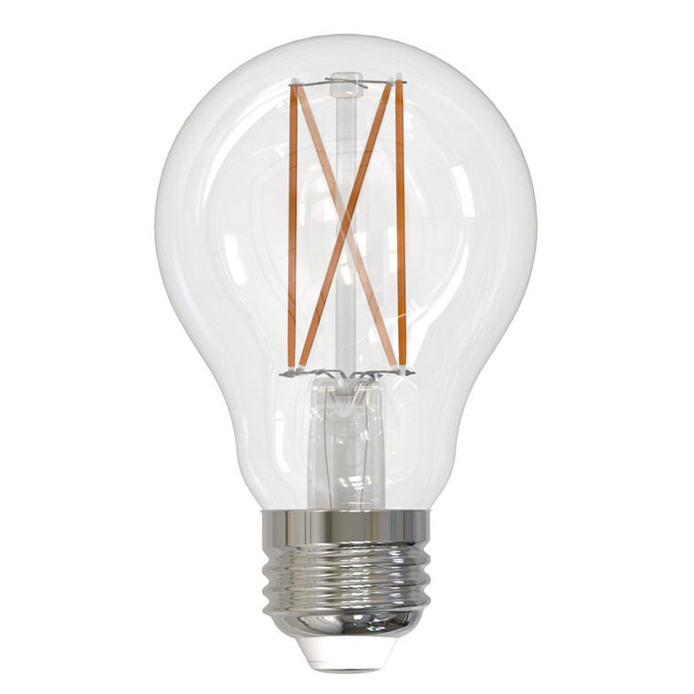 Bulbrite: 776874 LED Filaments: Fully Compatible Dimming, Clear Watts: 7 - LED7A19/27K/FIL/3 (10 Pack)