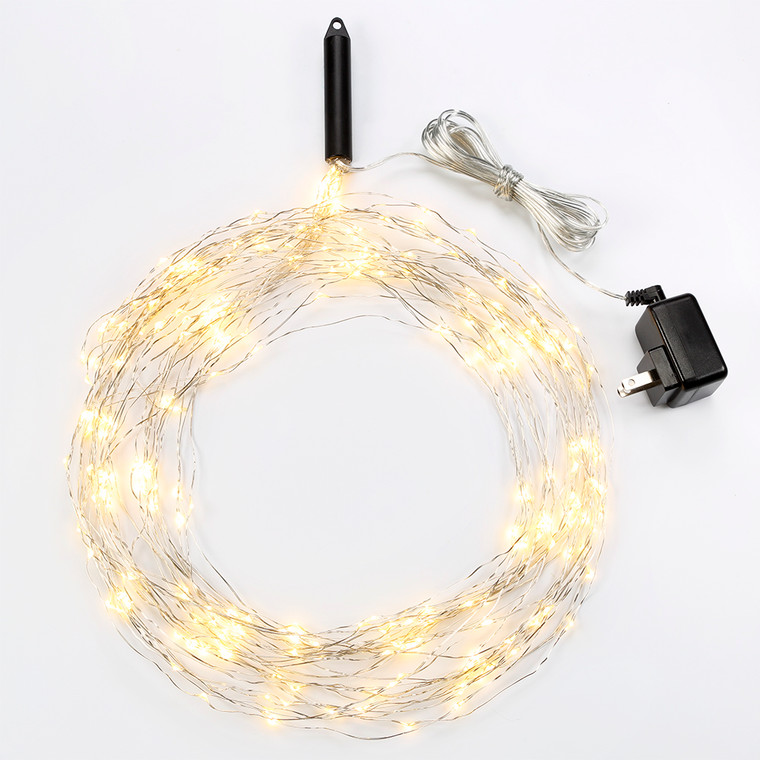 Bulbrite: 810065 FIXTURES Starry Lights (LED) Watts: 8 - LED/STAR/SIL/M/27K (10 Pack)