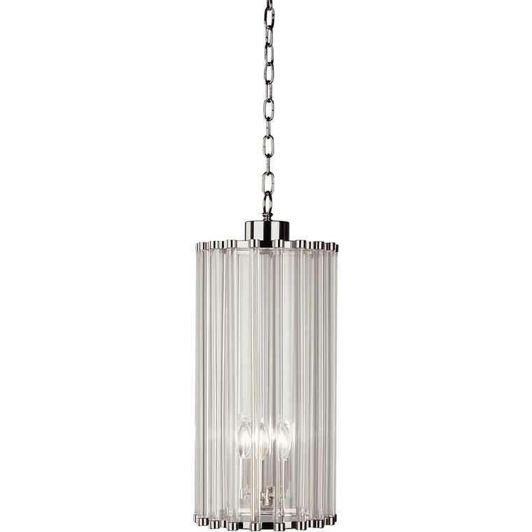 Robert Abbey Cole Pendant in Polished Nickel Finish S3337