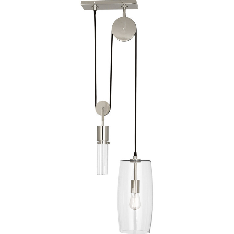 Robert Abbey Gravity Pendant in Polished Nickel Finish S419