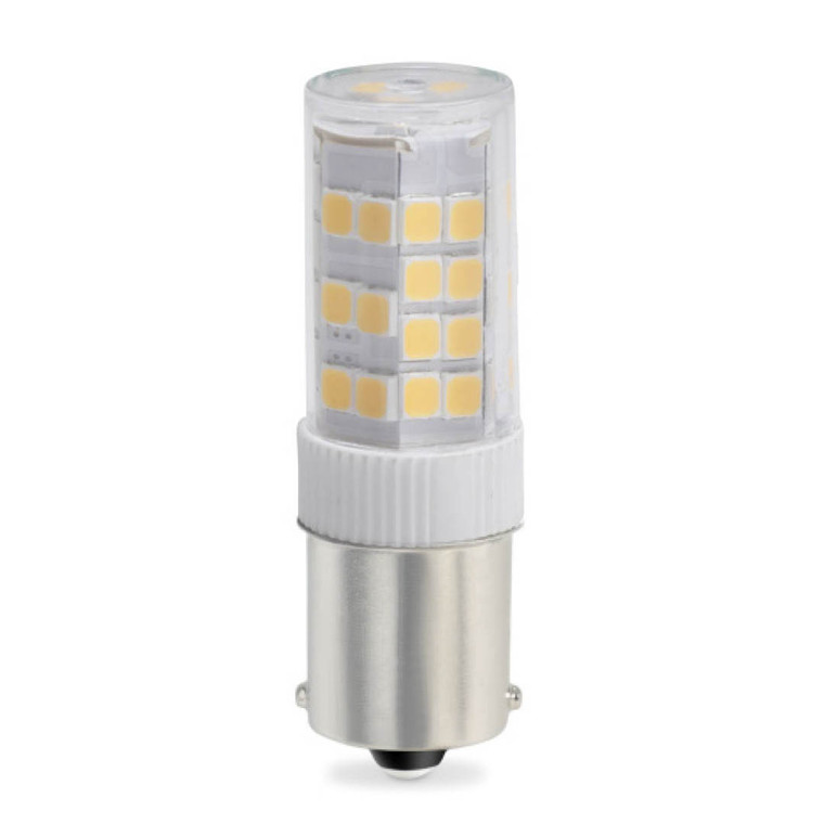 Bulbrite: 770618 LED Specialty Minis 12V/120V: Bayonet Watts: 4.5 - LED4SC/27K/12 (5 Pack)
