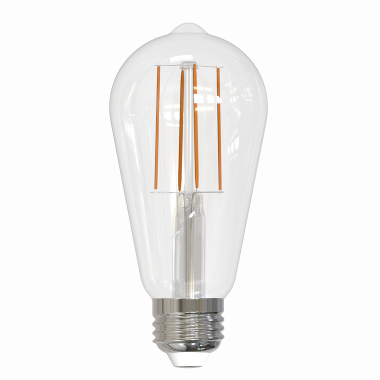 Bulbrite: 776669 LED Filaments: Fully Compatible Dimming, Clear Watts: 7 - LED7ST18/30K/FIL/2 (10 Pack)