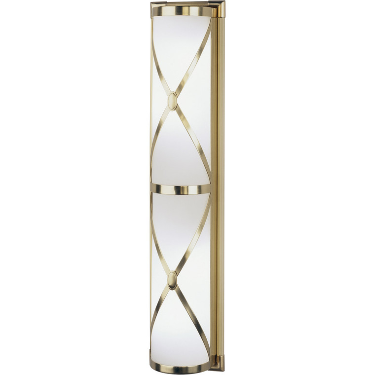 Robert Abbey Chase Wall Sconce in Antique Brass Finish 1987