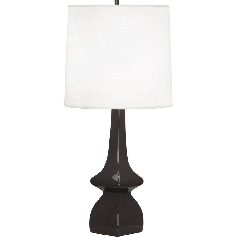 Robert Abbey Coffee Jasmine Table Lamp in COFFEE GLAZED CERAMIC CF210