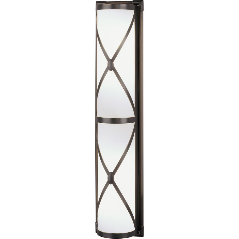 Robert Abbey Chase Wall Sconce in Deep Patina Bronze Z1987