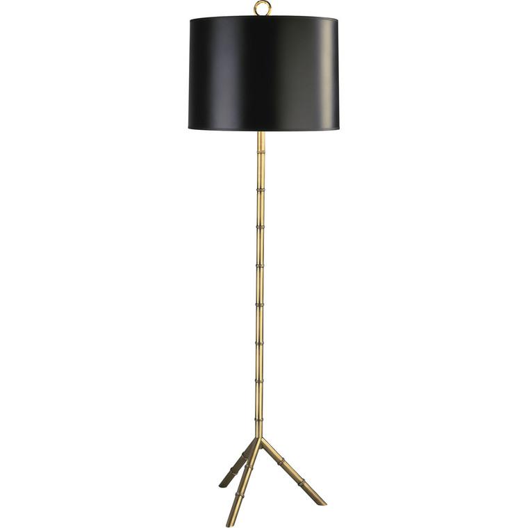 Robert Abbey Jonathan Adler Meurice Floor Lamp in Modern Brass Finish 651B