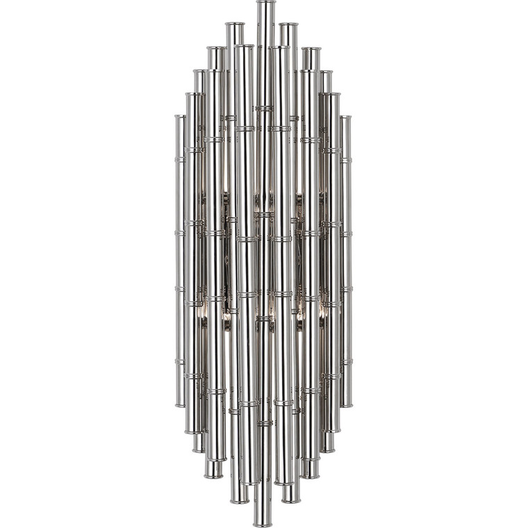 Robert Abbey Jonathan Adler Meurice Wall Sconce in Polished Nickel Finish S764