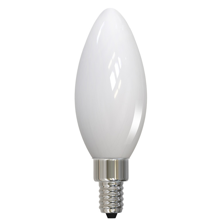 Bulbrite: 776772 LED Filaments: Fully Compatible Dimming, Milky Watts: 3.6 - LED3B11/27K/FIL/M/3 (10 Pack)