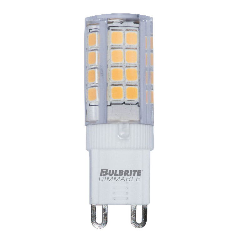 Bulbrite: 770590 LED Specialty Minis 12V/120V: GY6, G8, G9 Watts: 4.5 - LED4G9/27K/120/D (5 Pack)