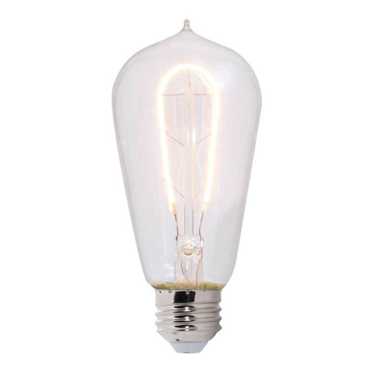 Bulbrite: 776513-1 LED Filaments Curved: Fully Compatible Dimming Watts: 4 - LED4ST18/22K/FIL-NOS/CURV/1890 (1 Pack)