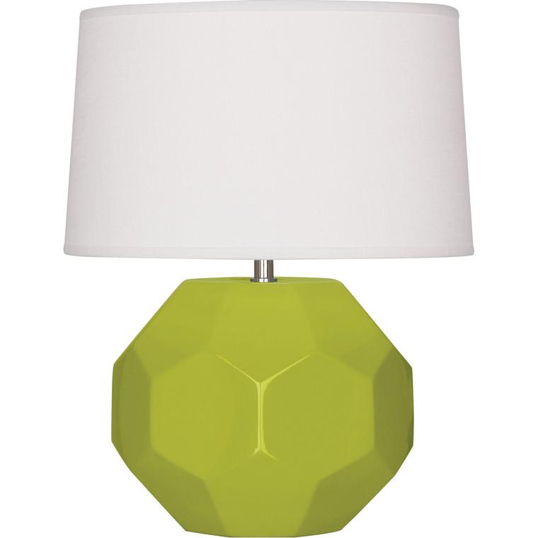Robert Abbey Apple Franklin Accent Lamp in Apple Glazed Ceramic
