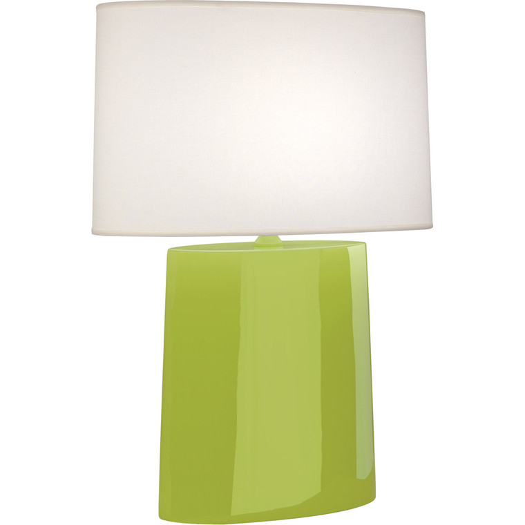 Robert Abbey Apple Victor Table Lamp in Apple Glazed Ceramic