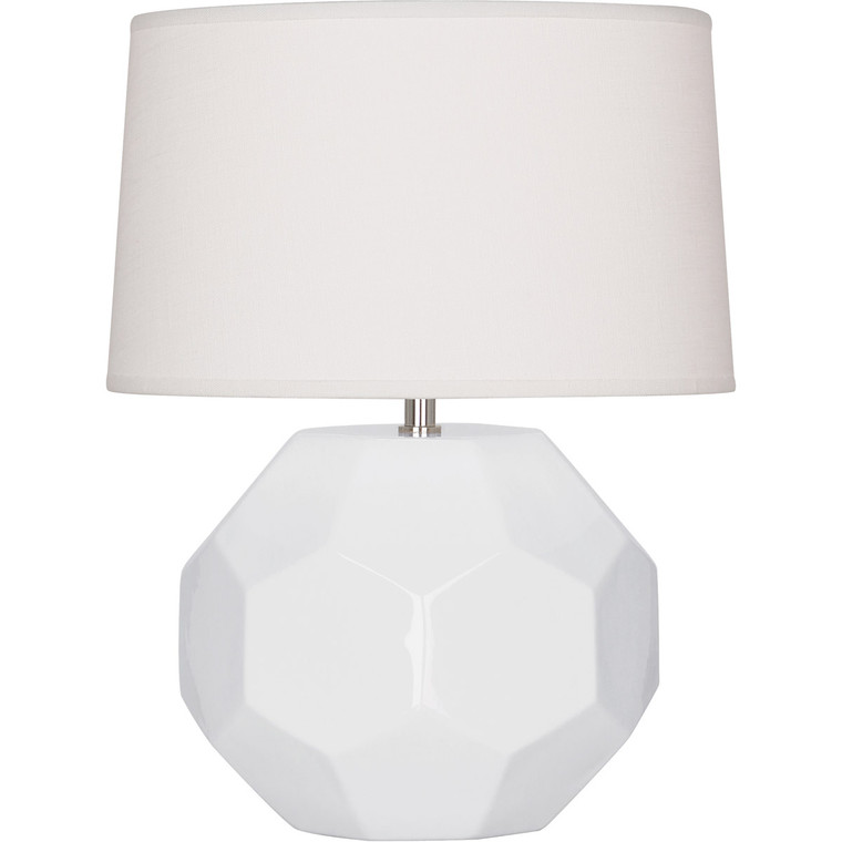 Robert Abbey Lily Franklin Accent Lamp in Lily Glazed Ceramic