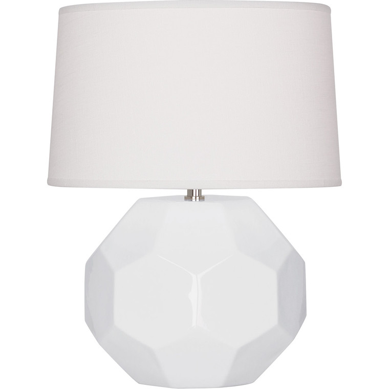 Robert Abbey Lily Franklin Table Lamp in Lily Glazed Ceramic