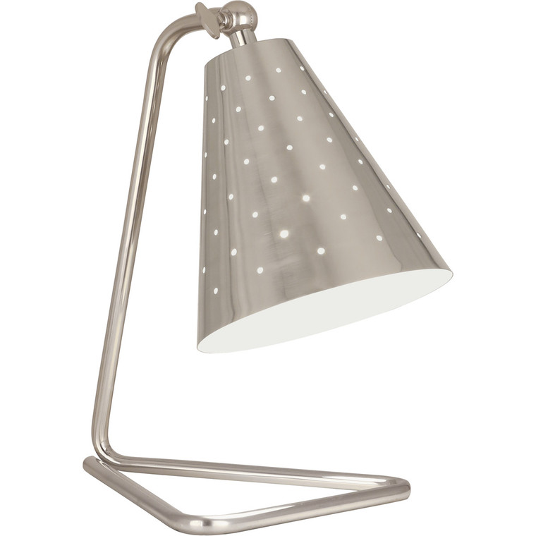 Robert Abbey Pierce Accent Lamp in Antique Silver Finish