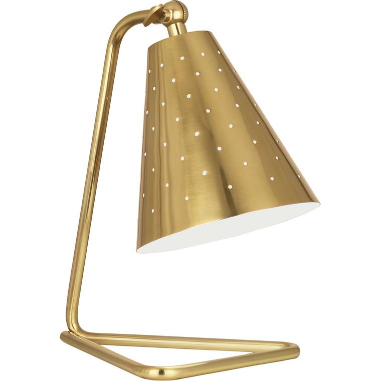 Robert Abbey Pierce Accent Lamp in Modern Brass Finish