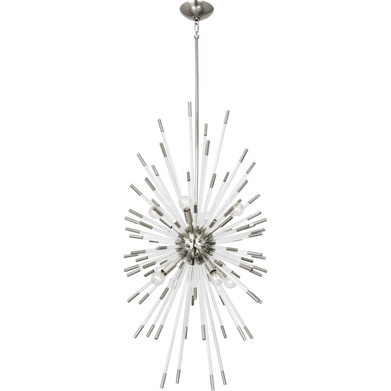 Robert Abbey Andromeda Chandelier in Polished Nickel Finish S1206
