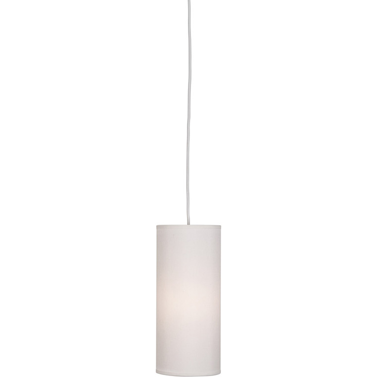 Robert Abbey Elena Pendant in Painted White Finish W167