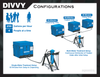 DIVVY 250 Emergency Drinking Water Purification System - Purifies 2500 Gallons Per Day!