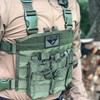 Spec Operator Condor Triple AR/M4 Chest Panel Tactical Vest / Holds 6 Mags!