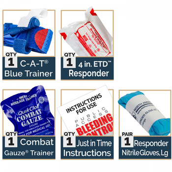 Bleeding Control Blue Trainer - STB 85-1880