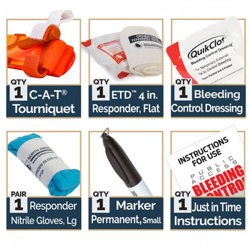 Bleeding Control Kit w/ Quikclot STB 85-1574
