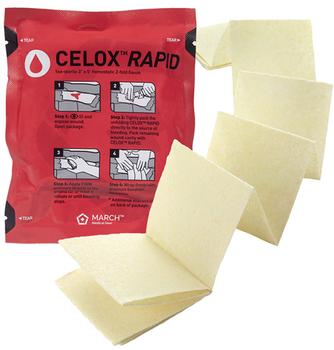 Celox Rapid Hemostatic Gauze 1130ZFR