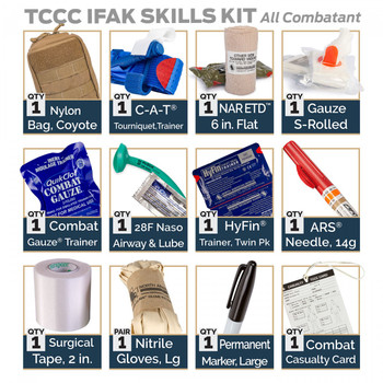 TCCC IFAK Skill Set Kit – All Combatant 85-1958