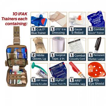 TCCC IFAK Drop Leg Trainer 85-0493 - Off Grid Preparedness Supply LLC