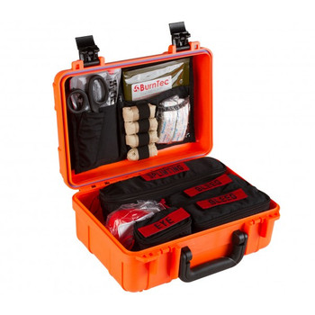 Range Trauma First Aid Kit - High Visibility Orange Hard Case  85-0889