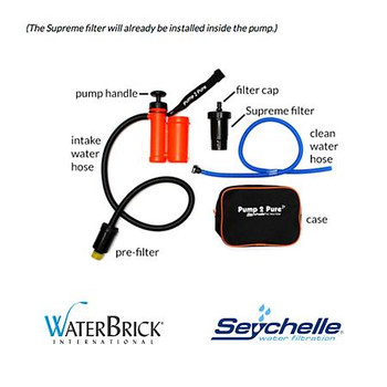 Waterbrick Seychelle Water Filter System Package SFP-0002