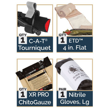 IPOK 80-0223 Bandage Option: w/ Chito XR Pro Gauze
