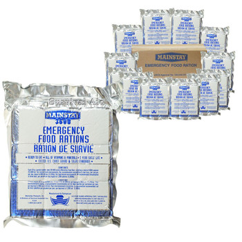 3600 Calorie Bars for Emergency Food Rations MS3600