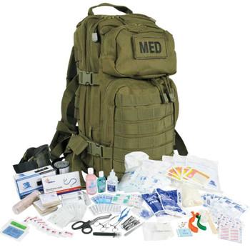 Tactical Trauma Backpack Kit w/ Multiple Tourniquet Options  #3 FA138