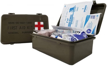 Military Style General Purpose First Aid Kit FA101