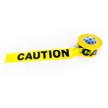 "Caution Tape 1000' x 3"" Yellow - 6 Pack"