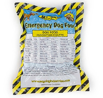 Dog Emergency Survival Food in Sealed Pouch 77010