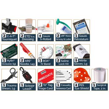 Medic CCRK Leg Rig Kit w/  C-A-T Tourniquet & ARS Decompression Needle 80-0046