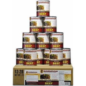 Beef Case Size 12 x 14oz. Cans $149.95 12 x 28oz. Cans $189.95