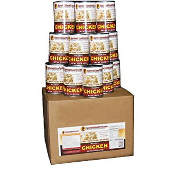 Chicken - Ready to Eat Canned Meat 12 Cans Full Case SCFCK28CASE