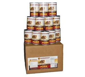 Pork - Ready to Eat Canned Meat 12 Cans Full Case SCFPK28CASE