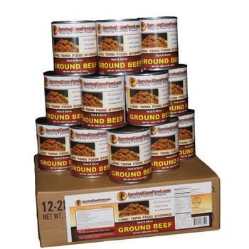 Ground Beef Case Size 12 x 14oz. Cans SCFGB14CASE $145.95 12 x 28oz. Cans SCFGB28CASE $179.95