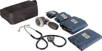 Blood Pressure / Stethoscope Kit w/ Heavy Duty Zippered Case 20-0057