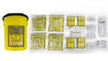 Economy Emergency Honey Bucket Kits  (4 Person Kit) 13032