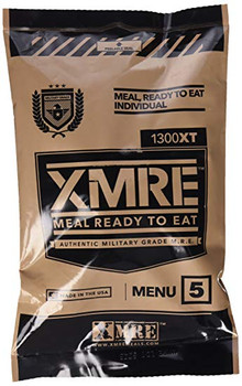 2200 Calorie U.S. Military Grade MRE (Meal Ready To Eat) 2200XT