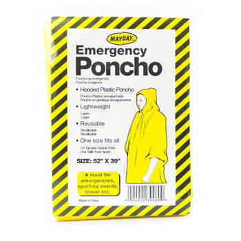 Waterproof Emergency Unit w/ Food and Emergency Supplies  (9 Piece) 13076