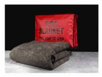 Fire Blanket with Fire Blanket Cover 10325