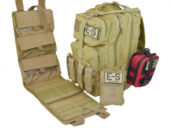 Echo-Sigma Range Bag W/ Compact Trauma Kit and Life Saving Equipment